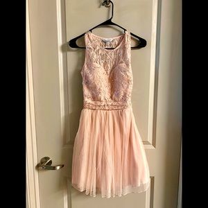 Speechless Millennial/Blush Pink Dress